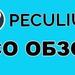 ВидеоОбзор #4 — Peculium ICO
